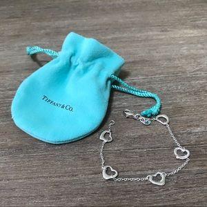 Tiffany & Co Open Heart bracelet
